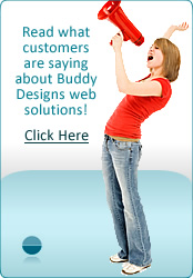What customers are saying about Buddy Designs website solutions!